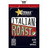 FLAVIA ALTERRA Coffee, Italian Roast, 20-Count Fresh Packs (Pack of 1 Rail)