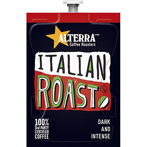 FLAVIA ALTERRA Coffee, Italian Roast, 20-Count Fresh Packs (Pack of 1 Rail) (Flavia Coffee Brewers compare prices)