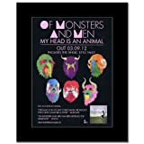 OF MONSTERS AND MEN - My Head is an Animal Matted Mini Poster - 28.5x21cm
