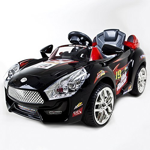 europacific brands black hot racer 19 kids battery powered wheels ride on car w