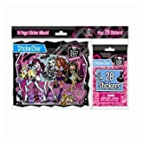 Monster High Stickerzine Sticker Album