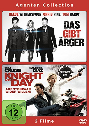 Das gibt Ärger / Knight and Day - Agentenpaar wider Willen [2 DVDs]