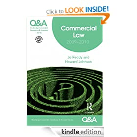 Q&A Commercial Law 2009-2010 (Questions and Answers)