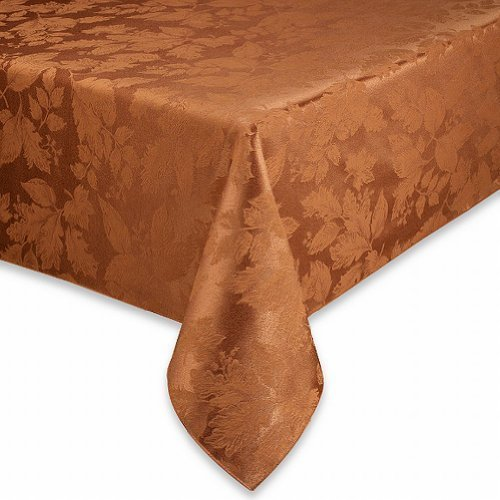 bbb-autumn-harvest-sienna-rust-damask-fabric-tablecloth-table-cloth-52x70-ob-by-autumn-harvest