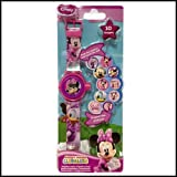 Minnie Mouse Clubhouse Projection Watch LCD Digital Watch Date and Time Functions