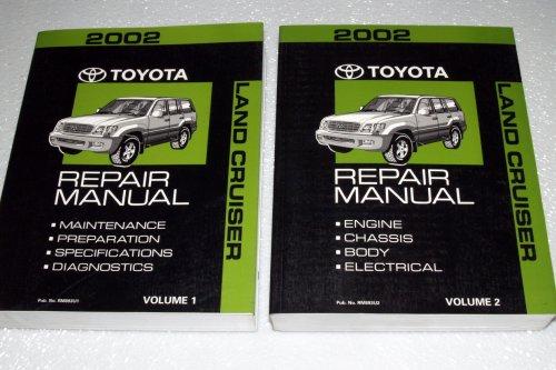 2002 Toyota Land Cruiser Repair Manuals (UZJ100 Series, 2 Volume Set) (Toyota Landcruiser Repair Manual compare prices)