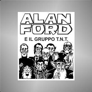 Adesivo Alan Ford e il gruppo TNT comics cartoon cartoni animati sticker   Valutazione del cliente