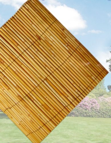 Garden Reed Fence Screening 4m x 1m