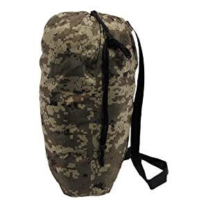 MFH Camouflage Ghillie Suit Woodland (Digital Woodland Bag) by MFH