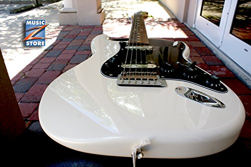 Fender STANDARD Series STRATOCASTER HH Electric Guitar, Brand New (Fender Blacktop Stratocaster Hh compare prices)