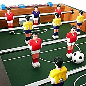 Futbolín de madera - 51 cm - Ideal para el cuarto de los niños o la oficina