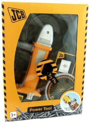 JCB Junior Tools - Power Angle Grinder Tool