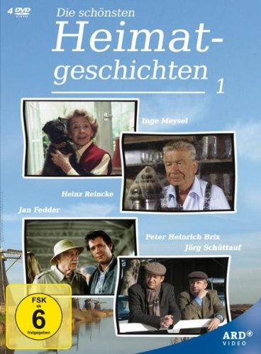 Die schönsten Heimatgeschichten (4 DVDs)