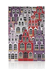 Town House Canvas Wall Art