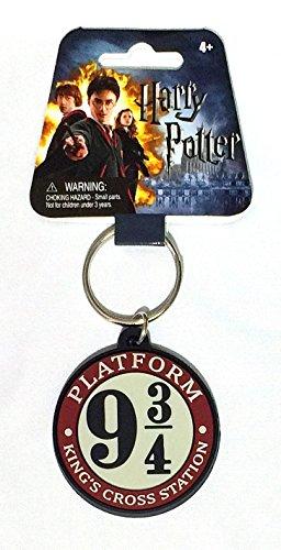 Harry Potter(ハリー・ポッター)9 3/4 Platform(キングスクロス駅)Soft Touch Keyring(キーホルダー) [並行輸入品]