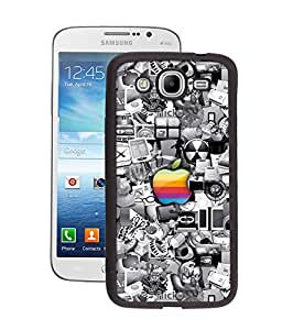 Crazymonk Premium Digital Printed Back Cover For Samsung Galaxy Mega 5.8