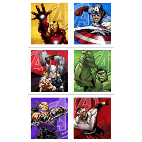 Avengers Assemble Sticker Sheets (4)