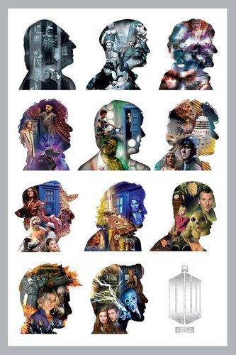 """Empire - Poster di """"Doctor Who"""", profili, accessorio incluso multicolore"""