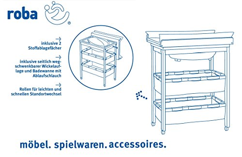 roba 1251 disegno semplice bagnetto fasciatoio bianco. Black Bedroom Furniture Sets. Home Design Ideas