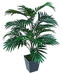 Ginni Bloom Artificial Areca Palm Plant, without pot