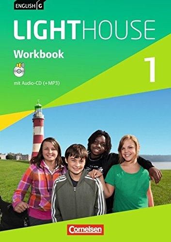 English G LIGHTHOUSE - Allgemeine Ausgabe: Band 1: 5. Schuljahr - Workbook mit Audio-CD: Audio-Dateien auch als MP3