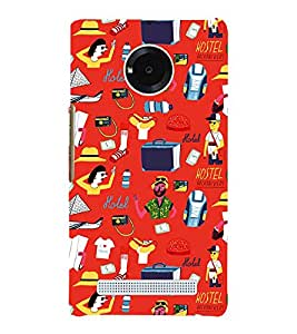 Modern Life Style Animation 3D Hard Polycarbonate Designer Back Case Cover for YU Yunique