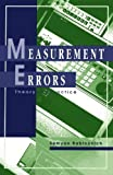 img - for Measurement Errors: Theory and Practice (AIP Translation S) by Rabinovich, Semyon (1994) Paperback book / textbook / text book