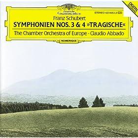 """Schubert: Symphonies Nos.3 & 4 """"Tragic"""" (CD 2)"""