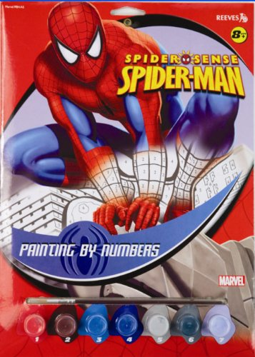 Reeves Painting By Numbers Griffin Spiderman