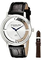 Stuhrling Original Men's 388G2.SET.01 Winchester Cathedral Stainless Steel Watch
