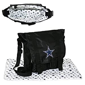 Dallas Cowboys NFL Sitter Baby Diaper Bag by Concept 1