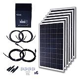 Komaes 600 Watts 12 Volts Polycrystalline Solar Starter Kit