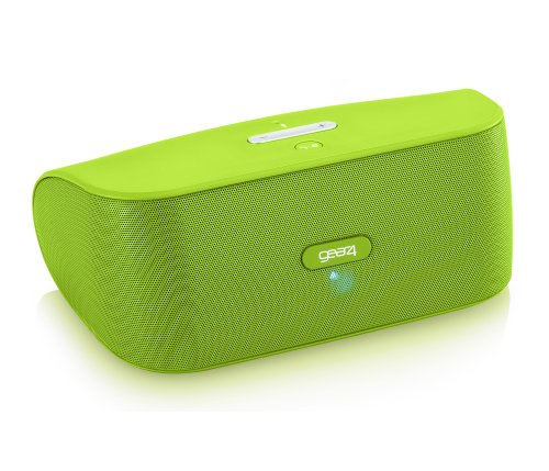 Gear4, Inc. PG748GRN StreetParty Wireless Portable Speaker for Any Smartphone with Bluetooth - Retail Packaging - Green