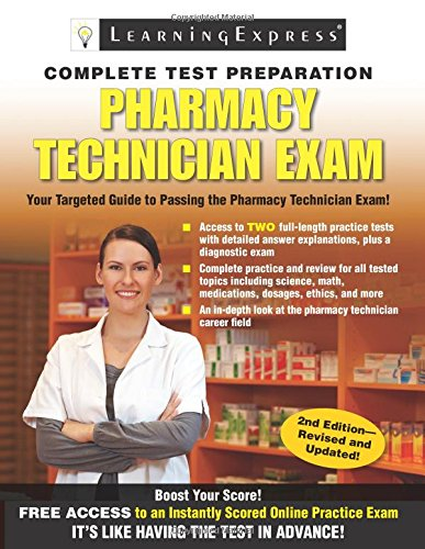 Pharmacy Technician Exam (Llc Learning Express compare prices)