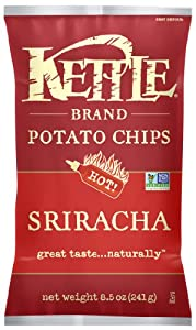 Kettle Sriracha Potato Chips, 8.5 Ounce (Pack of 12)