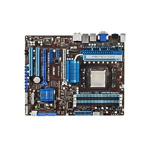 Asus PRO Socket AM3/AMD 890GX/SATA3 USB 3.0/ A&V&GbE/ ATX Motherboard, M4A89GTD PRO
