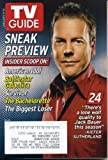 img - for TV Guide January 9, 2005 Kiefer Sutherland/24, Sneak Previews of American Idol, Battlestar Galactica, Survivor, The Batchelorette, The Biggest Loser book / textbook / text book