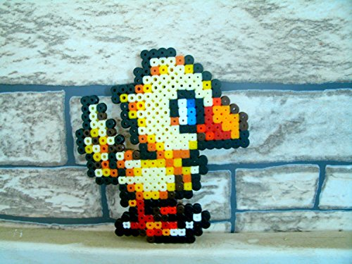 sprite-chocobo-final-fantasy-o-hama-beads-o-pixel-art