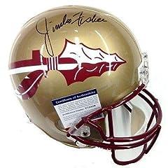 Jimbo Fischer Signed Florida State Seminoles Full Size Helmet Psa dna V75526