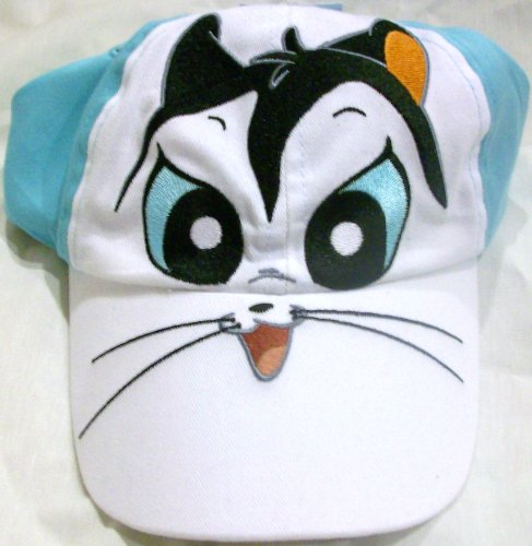 Looney Tunes Pussyfoot Big Face Youth Size Cap Hat, Great for Halloween