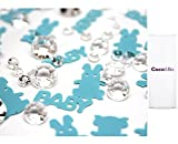 1 x Coco&Bo - Baby & Co. Diamonds Table Confetti - Breakfast at Tiffany's Baby Shower, Christening Table Party Decorations Accessories
