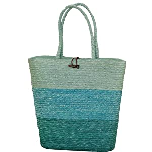 Tag Seaside 18-Inch by 18-Inch Jumbo Wheat Grass Tote Bag