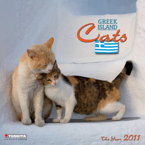 Greek Island Cats 2011 Wall Calendar