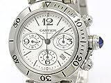 [カルティエ]Cartier【外装仕上げ済み】【CARTIER】カルティエ パシャ シータイマー クロノグラフ ステンレススチール 自動巻き メンズ 時計W31089M7(BF096842)[中古]
