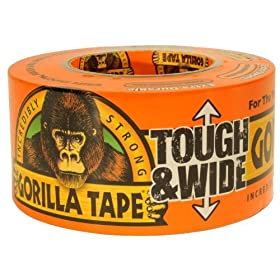 "Gorilla Glue Brand Gorilla Tape 3"" Wide 30 Yard Roll"