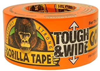 "Gorilla Glue Brand Gorilla Tape 2.88"" Wide 30 Yard Roll"