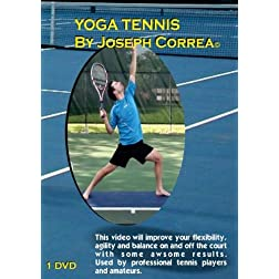 Yoga Tennis by Joseph Correa