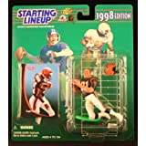 CARL PICKENS / CINCINNATI BENGALS 1998 NFL Starting Lineup Action Figure & Exclusive NFL Collector Trading Card ~ Starting Line Up