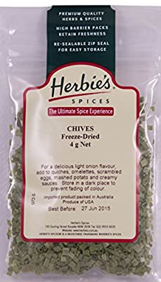 Herbie's Spices Chives Freeze-Dried - 4g from Herbie's Spices