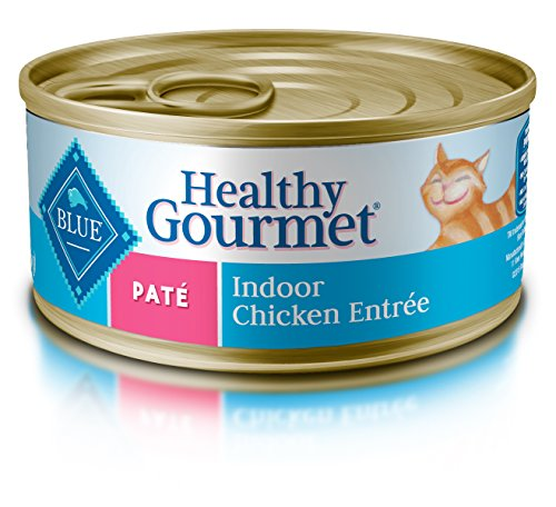 Blue Buffalo Healthy Gourmet Pate Indoor Chicken Adult Canne